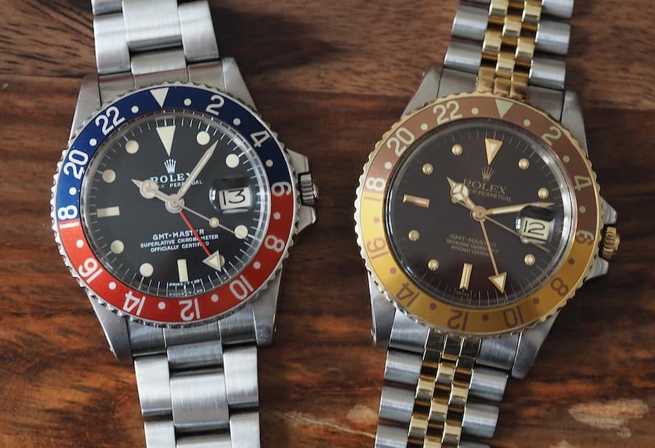 tbt rolex gmt master 16753 root beer the clint eastwood