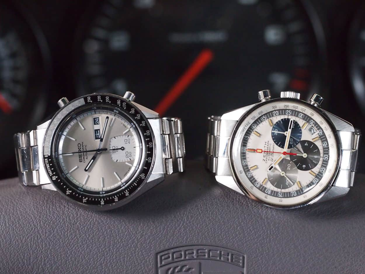 #TBT Articles - Seiko 6139 and Zenith A386