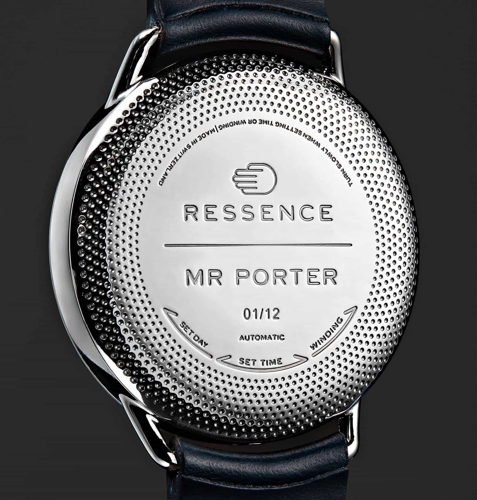 Mr Porter and Ressence Collaborate – Introducing the Ressence Type 1 MRP