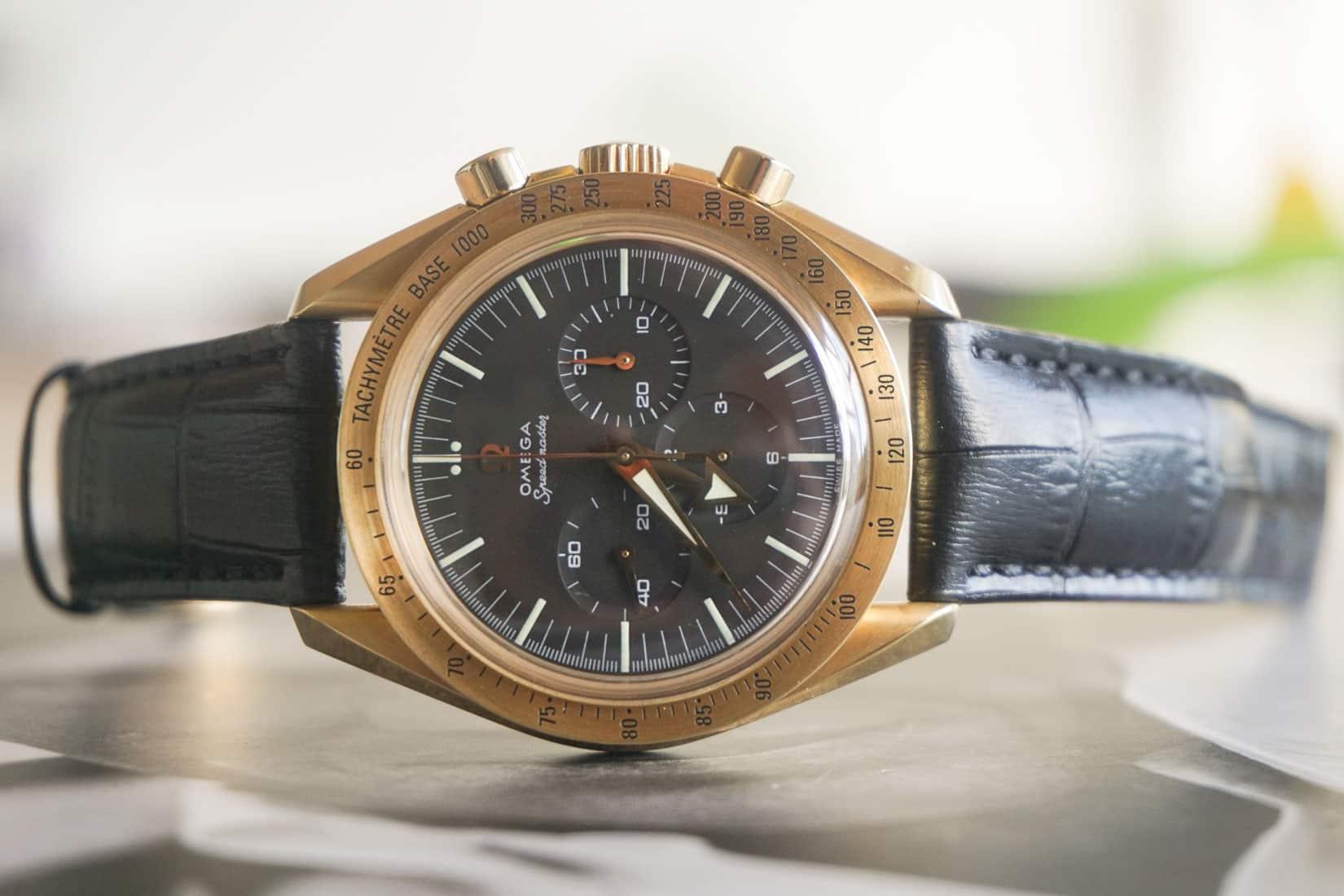Speedy Tuesday – A Very Rare Omega Speedmaster '150th Anniversary of Omega'