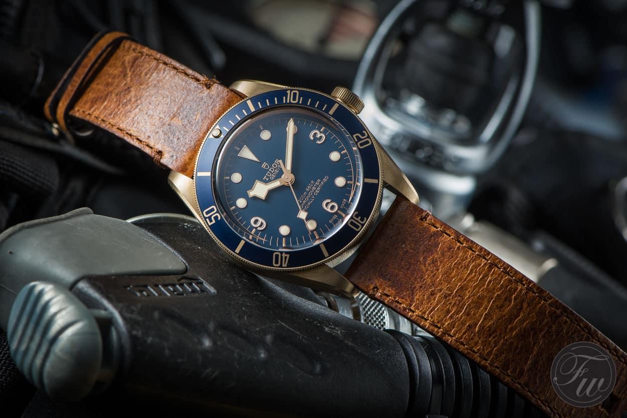 Hands-On Tudor Heritage Black Bay Bronze Blue Review
