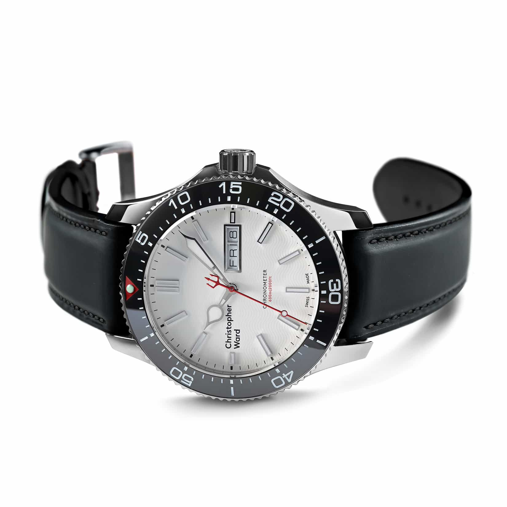 Christopher Ward C60 TRIDENT DAY DATE