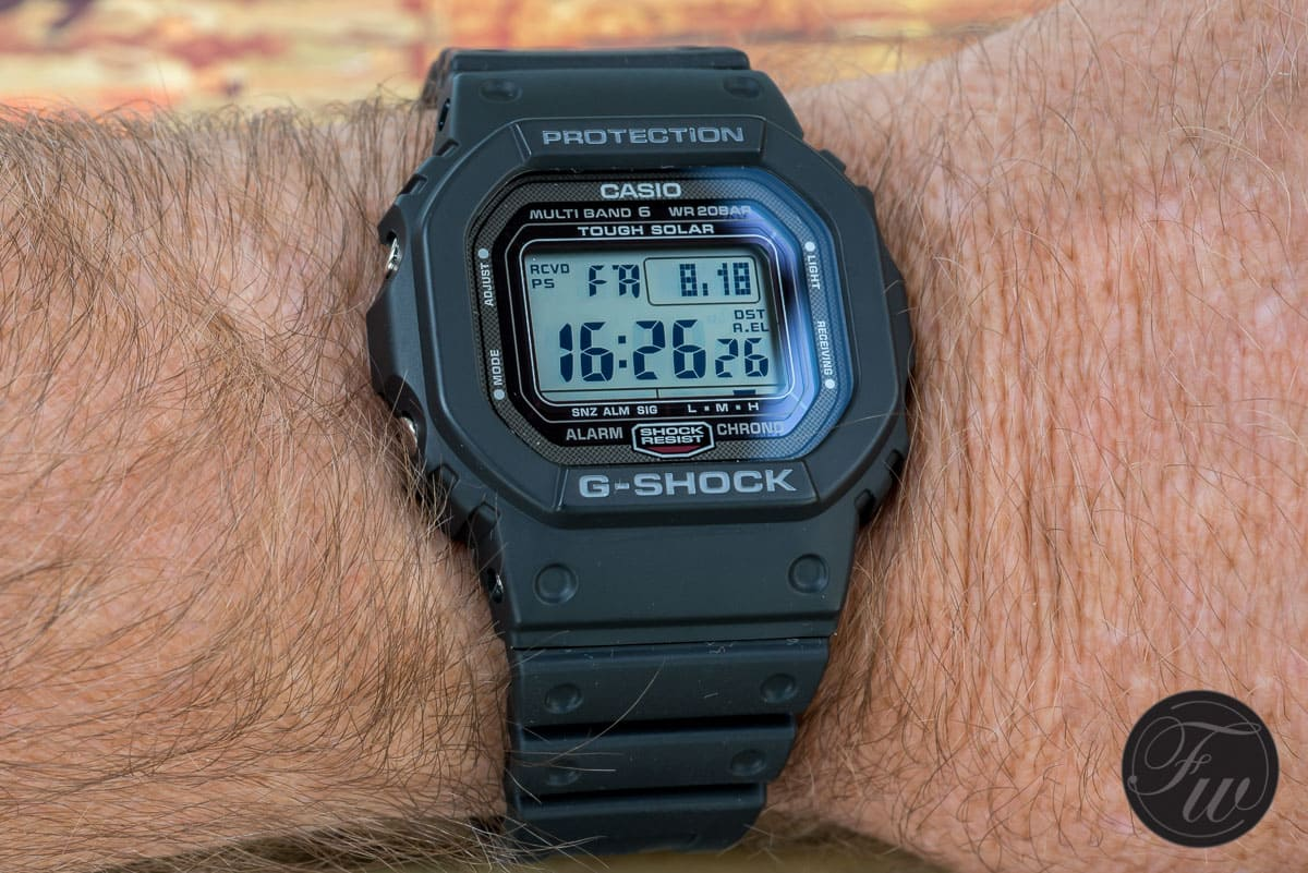 The Casio G Shock Gw 5000 An Offspring From The First G Shock In 1983