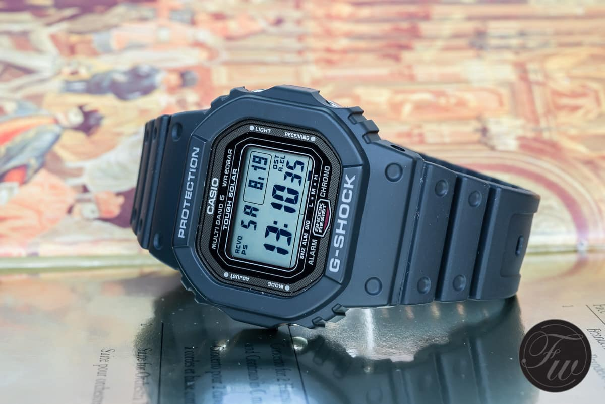 huge selection of b29cf 9d25a The Casio G-Shock GW-5000 an offspring from the first G ...