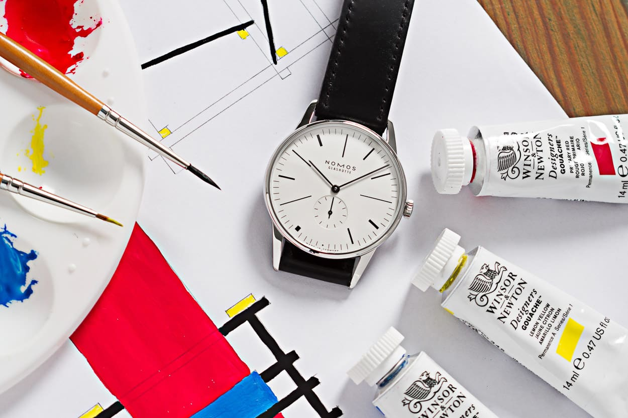 Ace Jewelers and NOMOS introduce to you the Orion 100 Years of 'De Stijl'