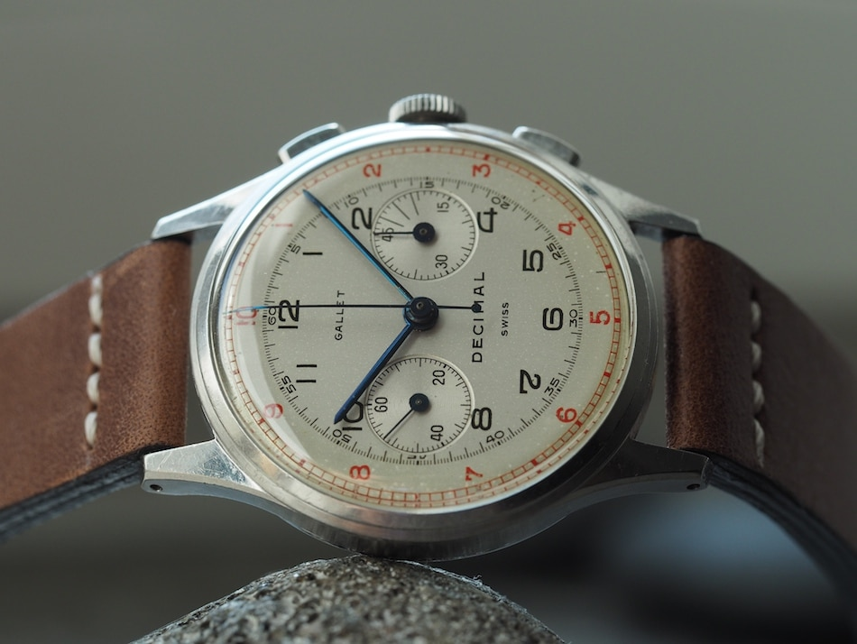 TBT The Return of the Gallet Multichron Decimal Chronograph