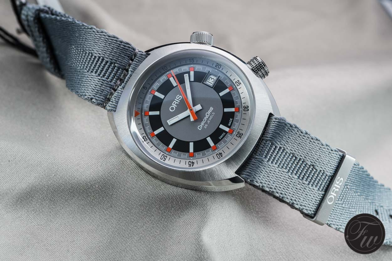 Oris ChonOris Date, an icon returns