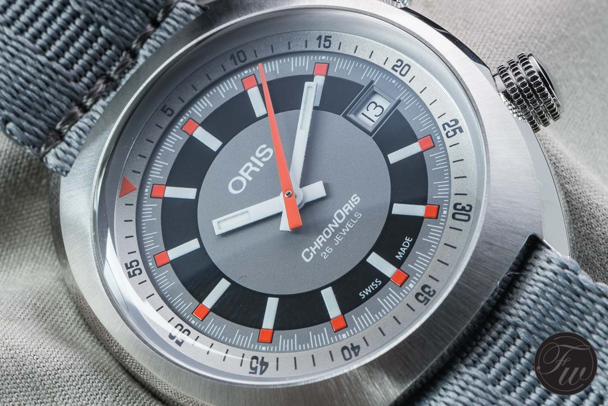 Up close and personal with the Oris ChonOris Date