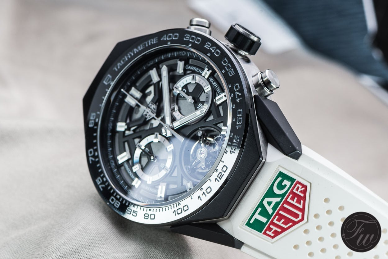 TAG Heuer Carrera HEUER 02T Tourbillon chronograph review