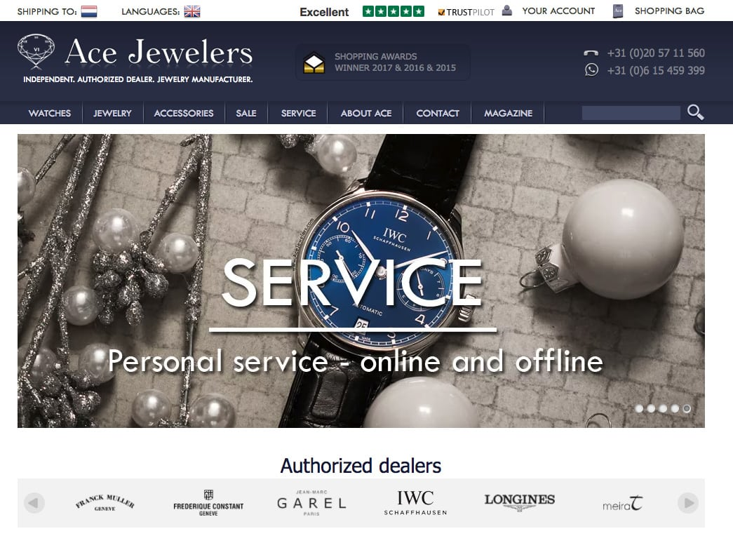 Buying Watches On-Line