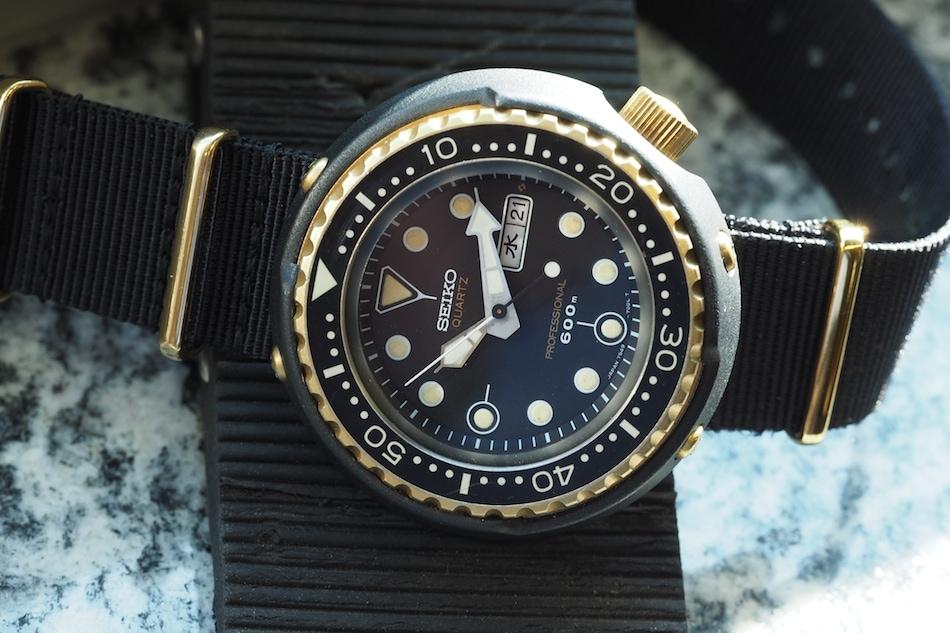 Seiko 7549 Golden Tuna - Top Vintage Seiko Divers