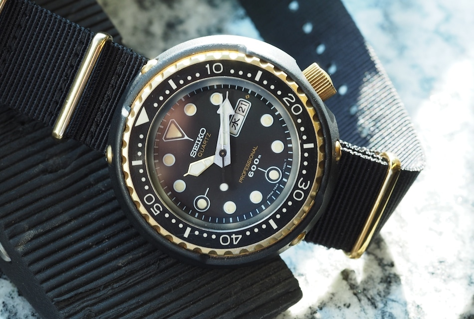 TBT Seiko 7549 Golden Tuna - In Love With a Quartz Diver