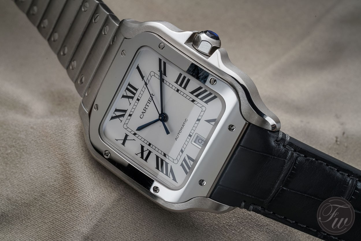 0d7878561c124 The New Cartier Santos - A Legend Returns (Warning: Opinionated)