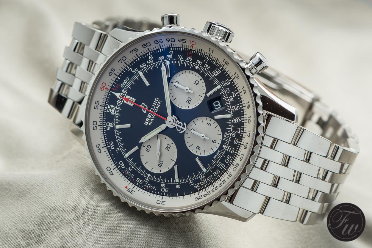 b300bfd47 Hands-On With The New 2018 Breitling Navitimer 1 B01 Chronograph In 43mm