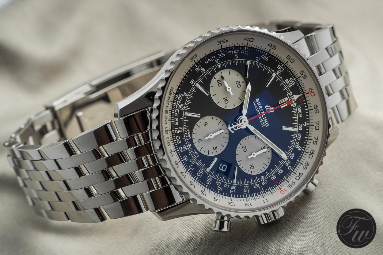 Hands On With The New 2018 Breitling Navitimer 1 B01