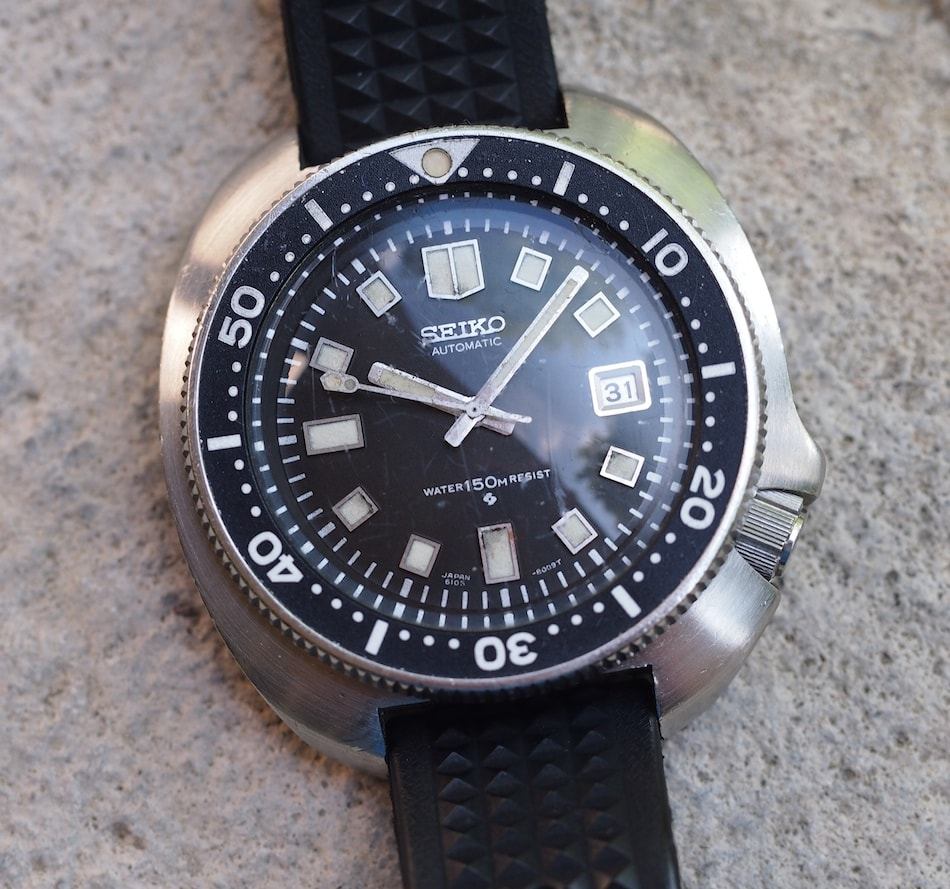 Seiko 6105-8110 - Top Vintage Seiko Divers