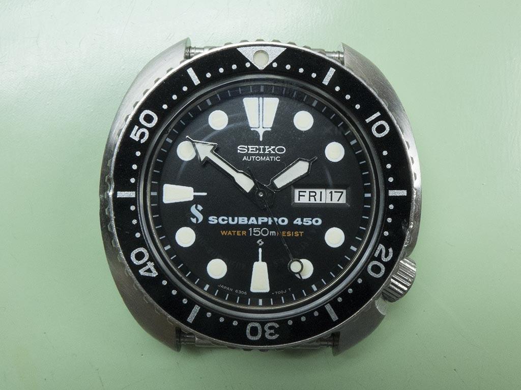 Seiko Scubapro 450 - Top Vintage Seiko Divers