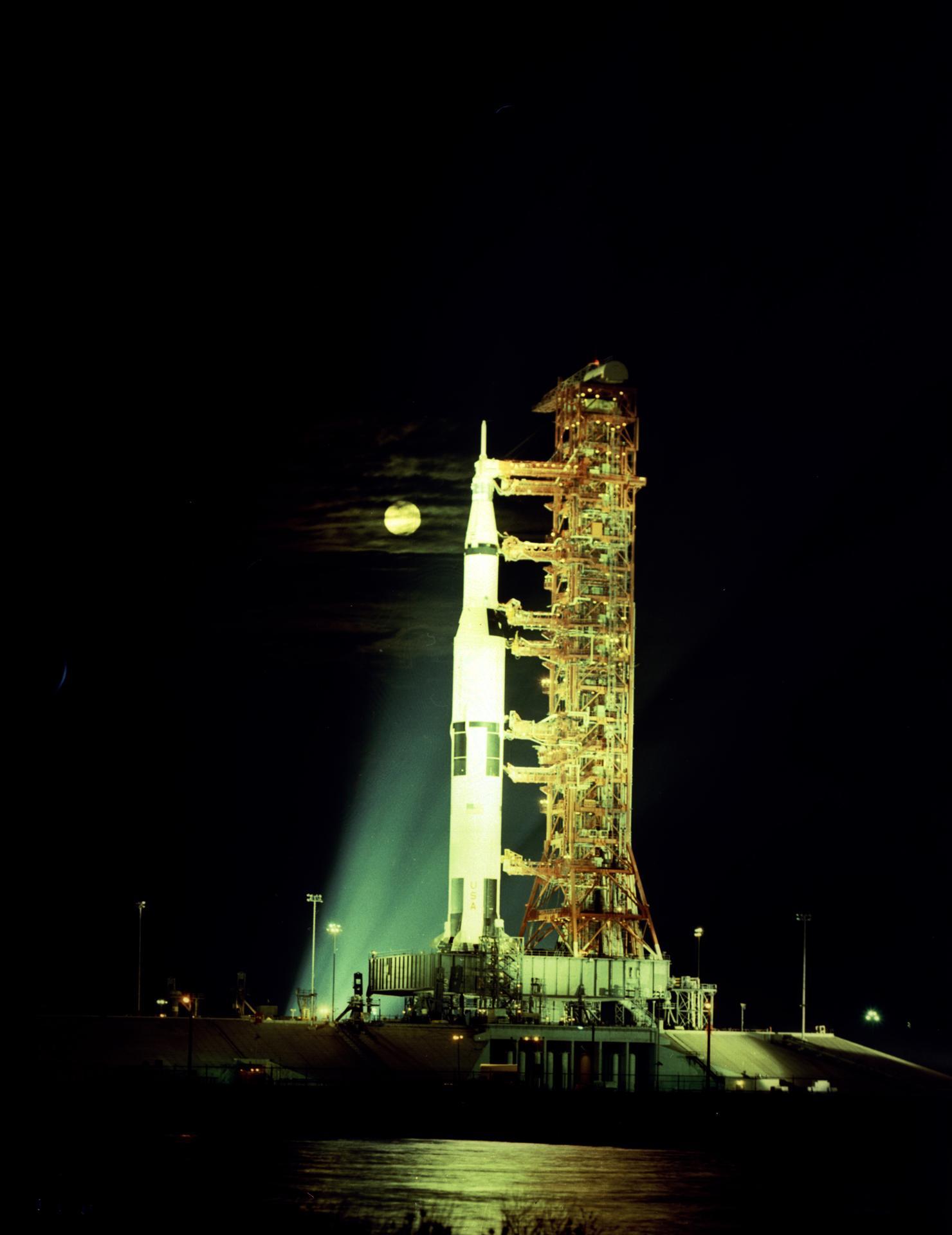 Apollo 17 Rollout 1972