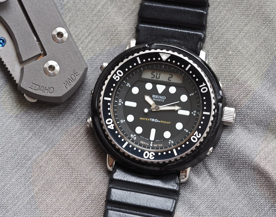 TBT Seiko H558 Arnie - One Serious Diver