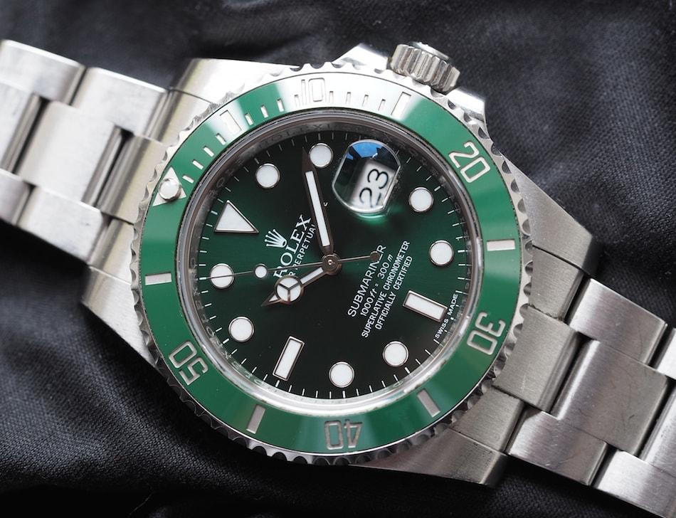 Rolex Submariner Hulk versus Seiko SLA019  Shades of Green