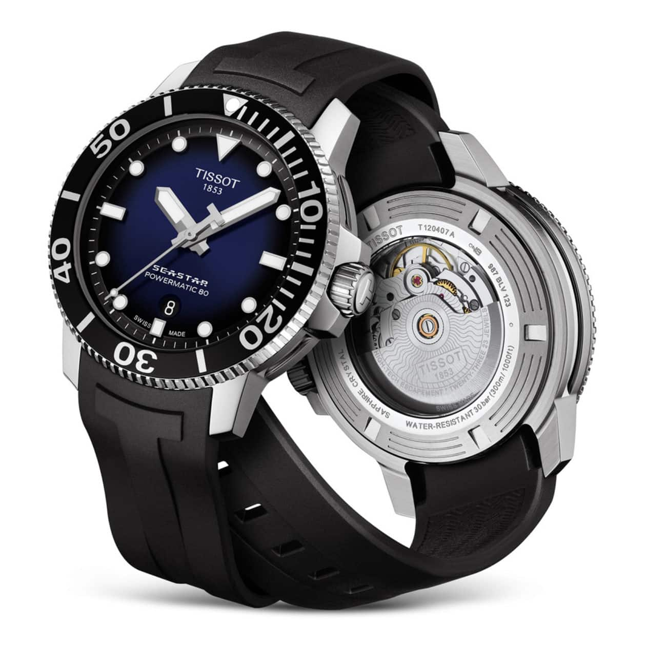Tissot Powermatic 80 Seastar 1000