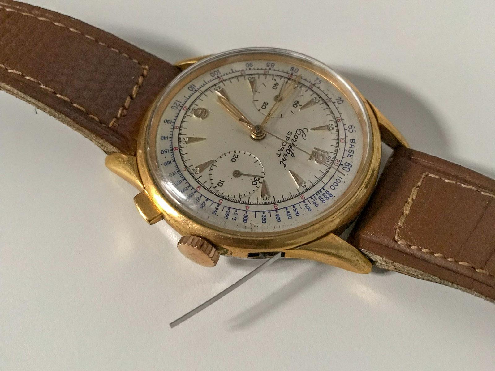 Cortebert Chronograph