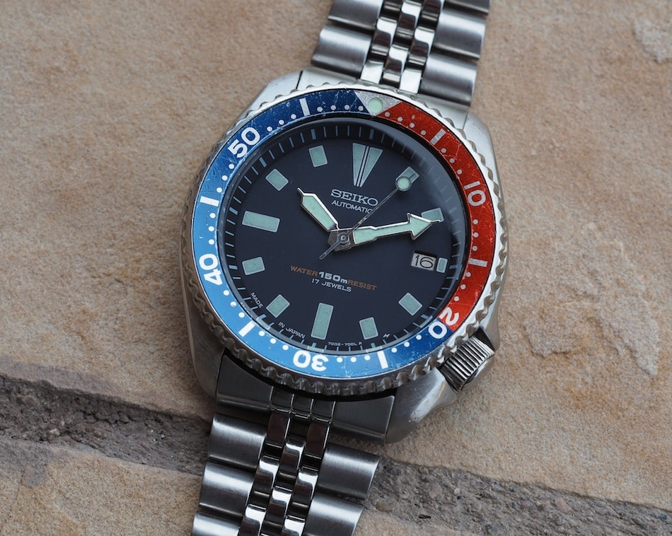 b9be40440 TBT Seiko 7002 Diver - A Neo-Vintage Classic