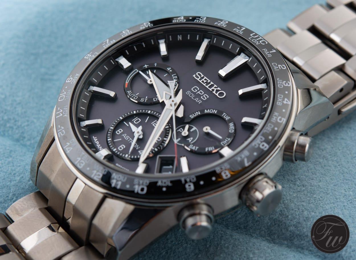 Seiko Astron Gps Solar Ssh003 With Calibre 5x Movement