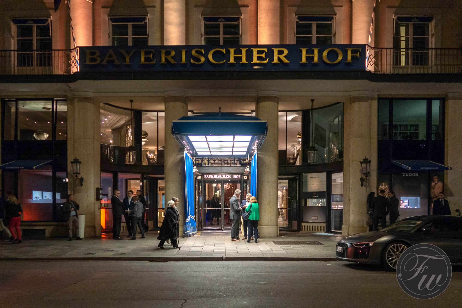 Hotel Bayerischer Hof hosting Munichtime