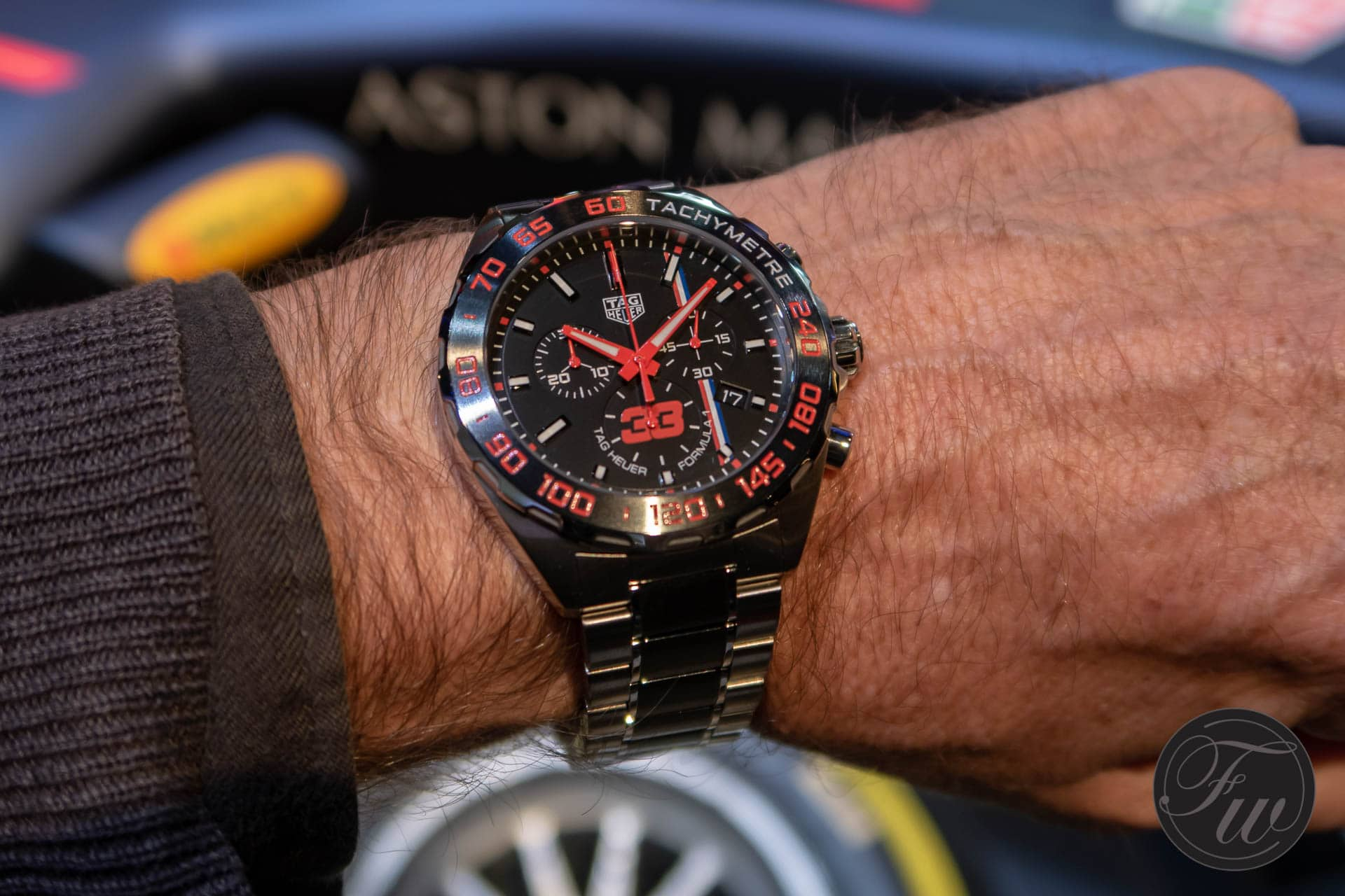This Tag: TAG Heuer Launches A Special-edition Watch Designed By Max