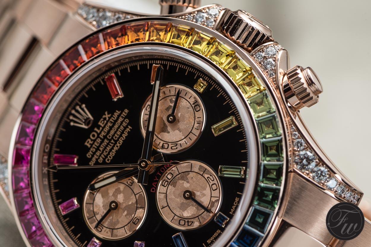 Rolex Daytona Rainbow Everose