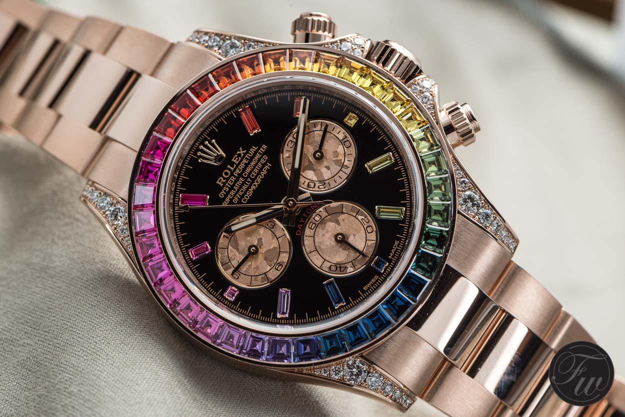 Rolex Daytona Rainbow 116595 RBOW
