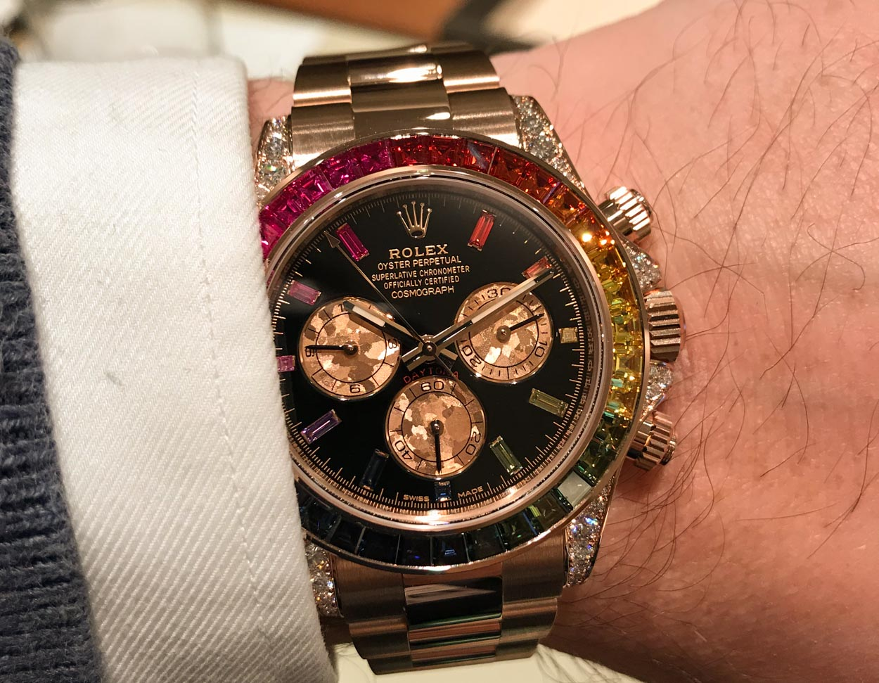 Rolex Daytona Rainbow Everose (116595RBOW) Craziest Watch