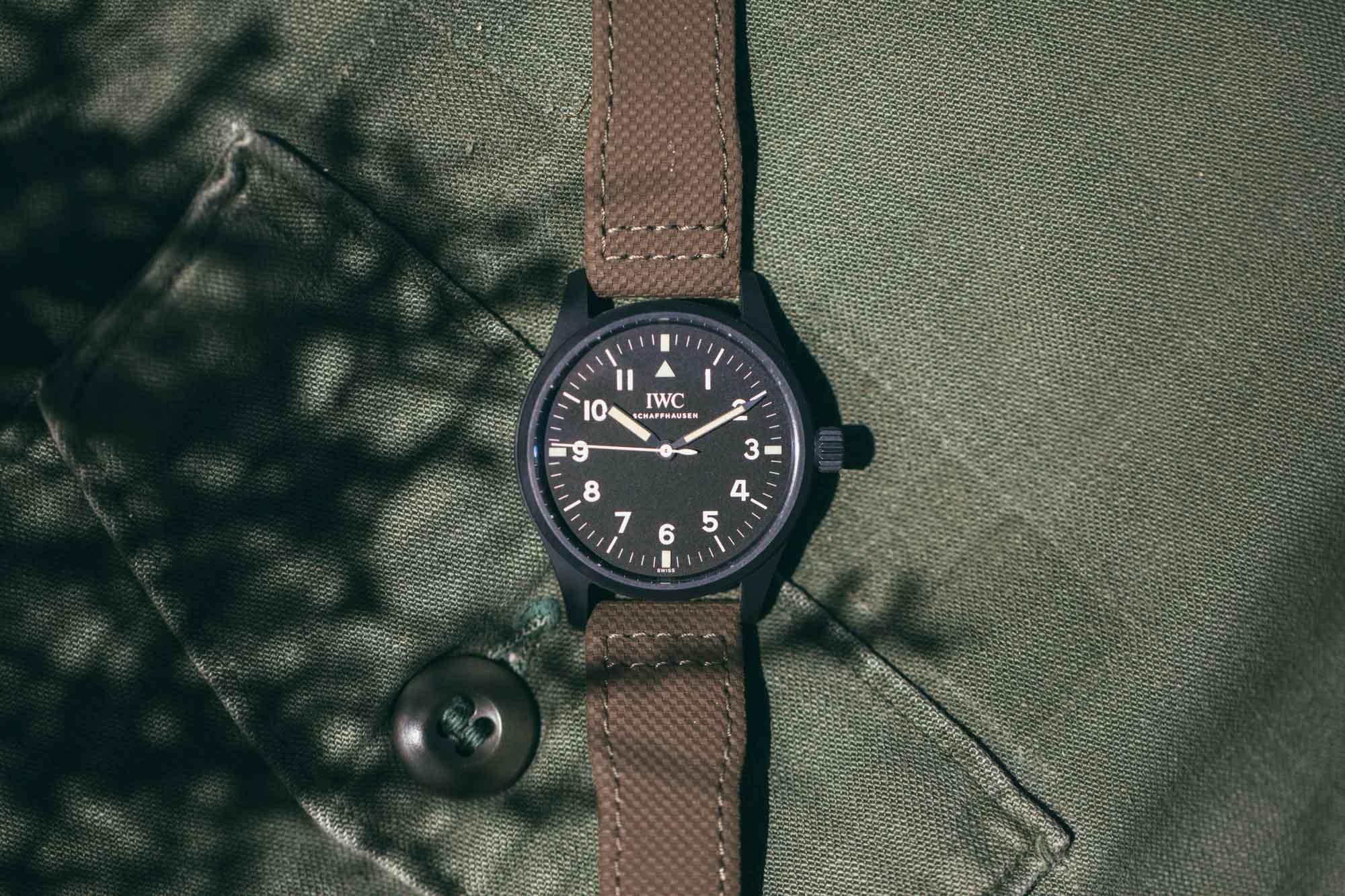"IWC Pilot's Watch Mark VIII Edition ""Hodinkee"""