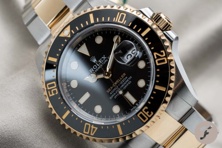 Rolex Sea-Dweller Steel and Gold