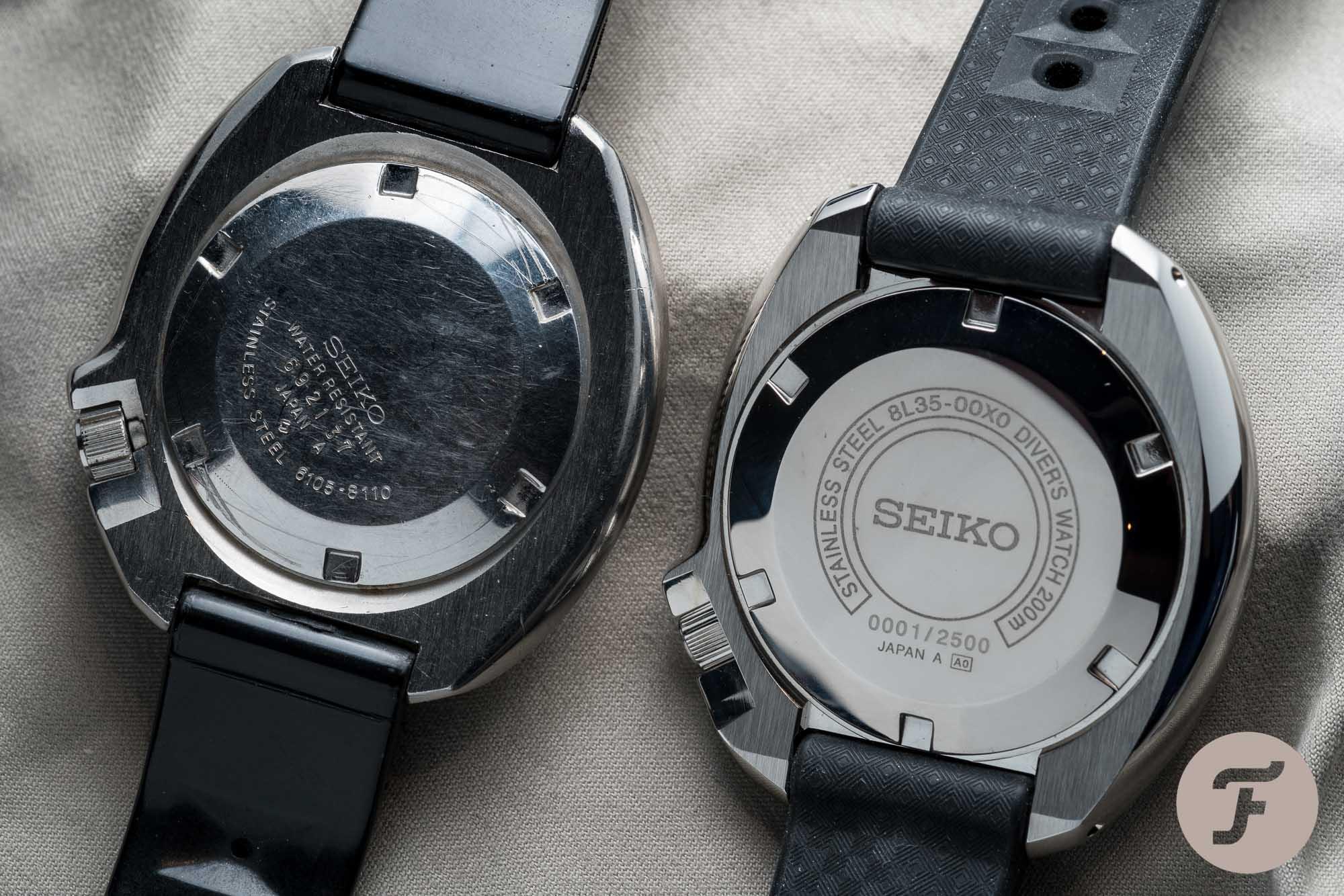 Seiko SLA033 vs 6105-8110