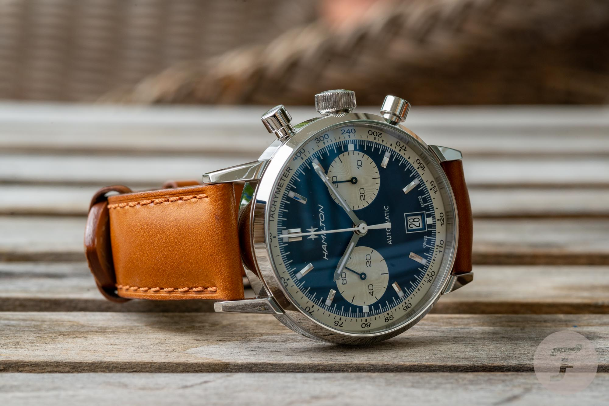 Hamilton Intra-matic Chrono Blue