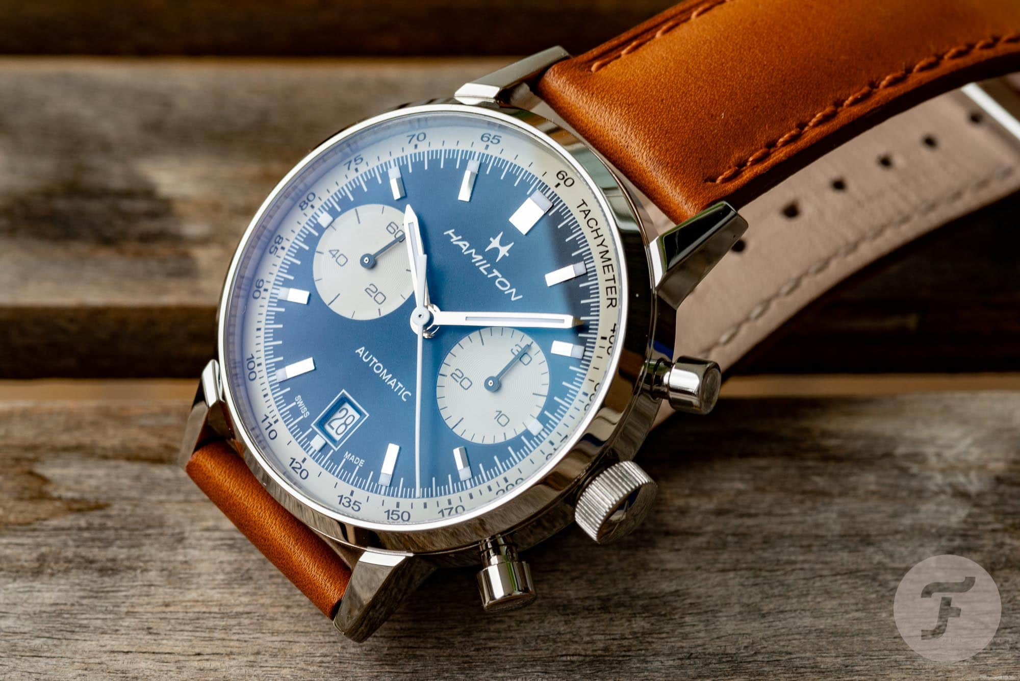 Hamilton Intra Matic Chrono In Blue Review