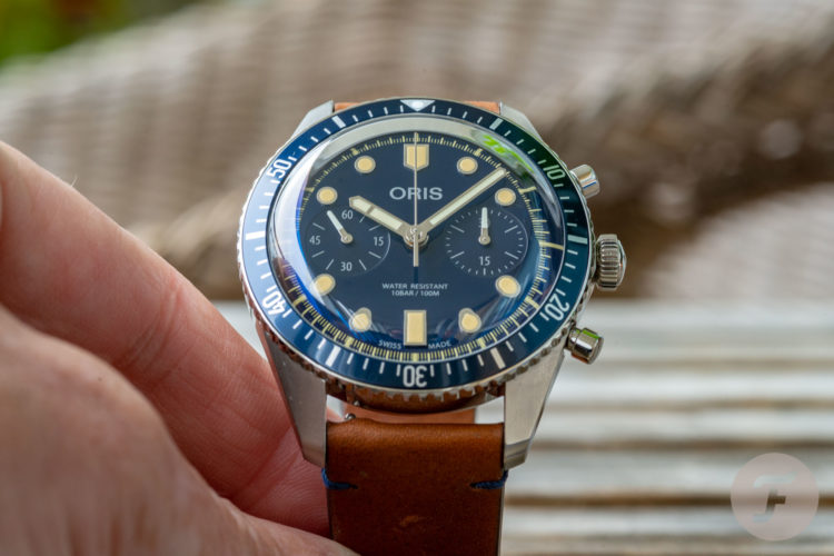 Oris Divers Sixty-Five Chronograph Bucherer Blue Editions