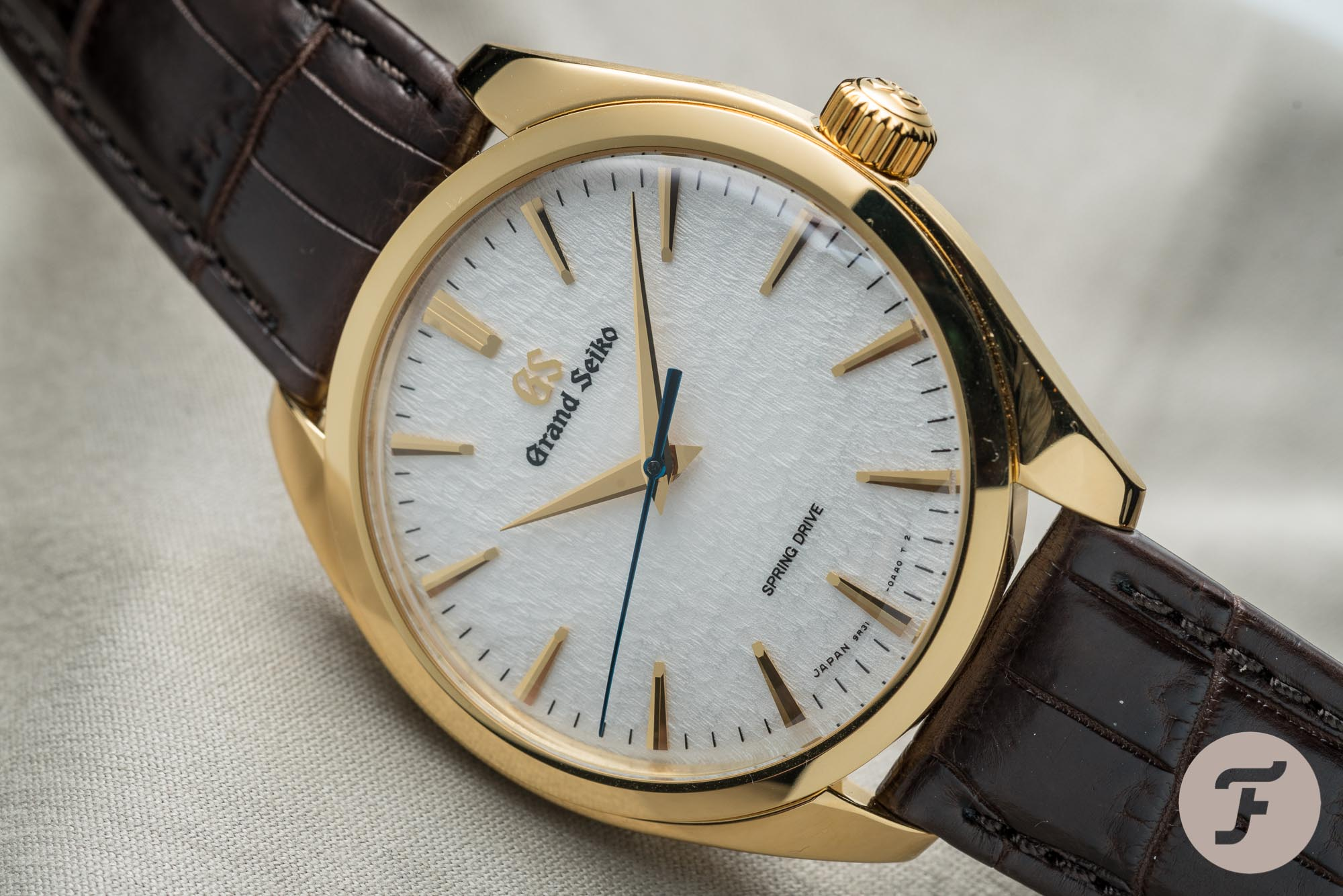 Grand Seiko Spring Drive SBGY002 Top 10 Dress Watches