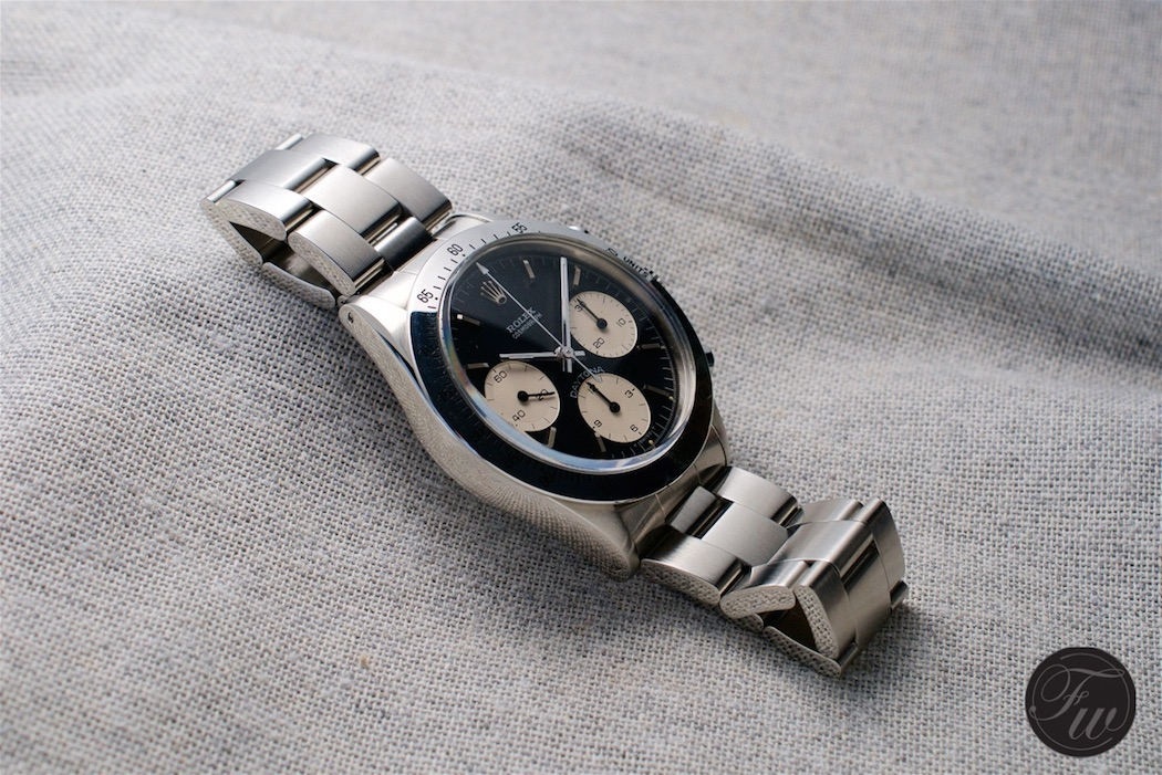 A Rolex Daytona 6262 sold in Switzerland in 1970 - not for the faint of heart.