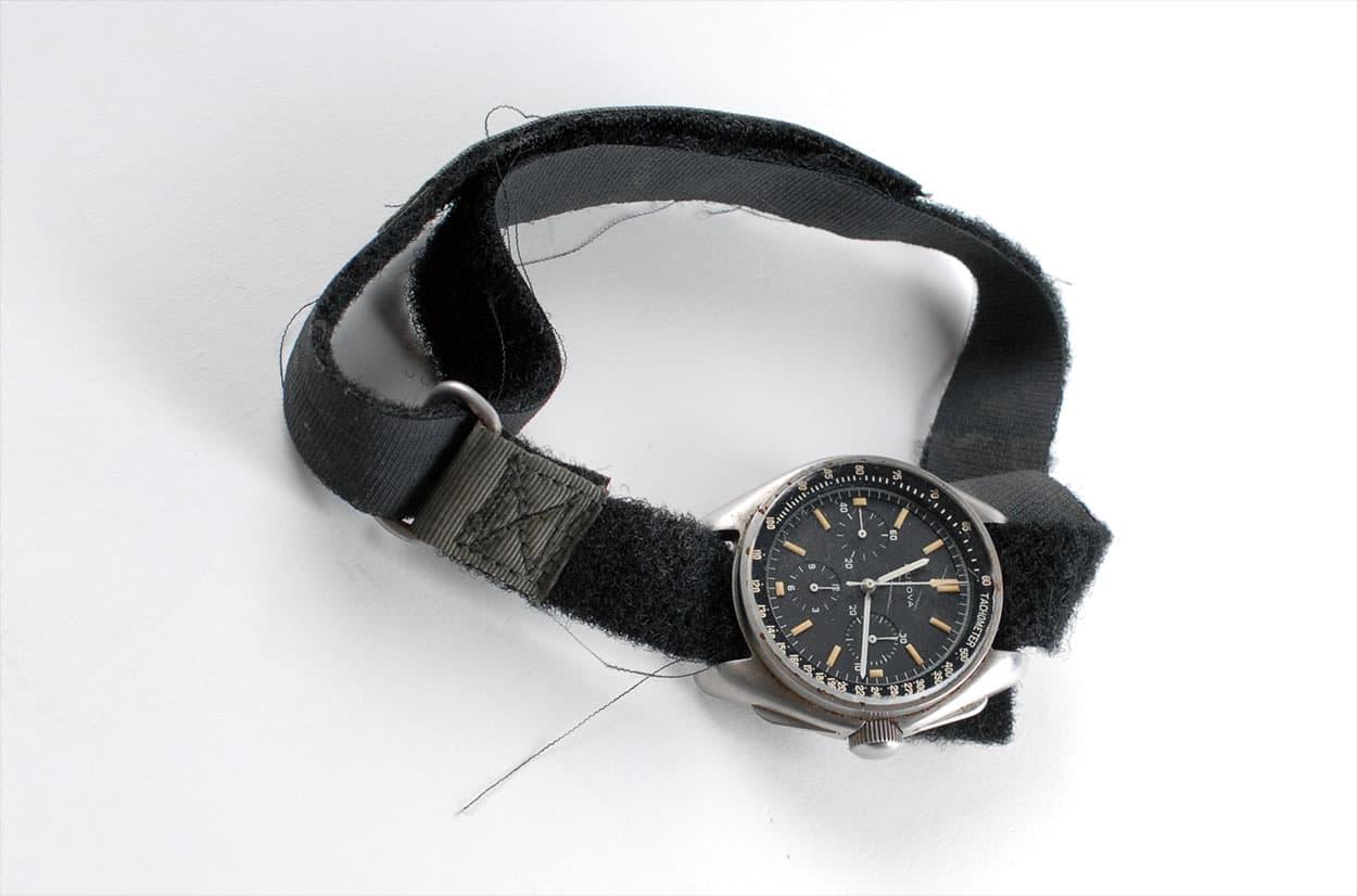 Apollo 15 Astronaut Dave Scott Bulova Chronograph 01