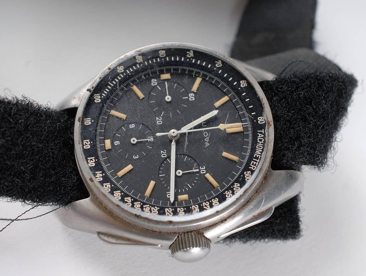 Apollo 15 Astronaut Dave Scott - Bulova Chronograph