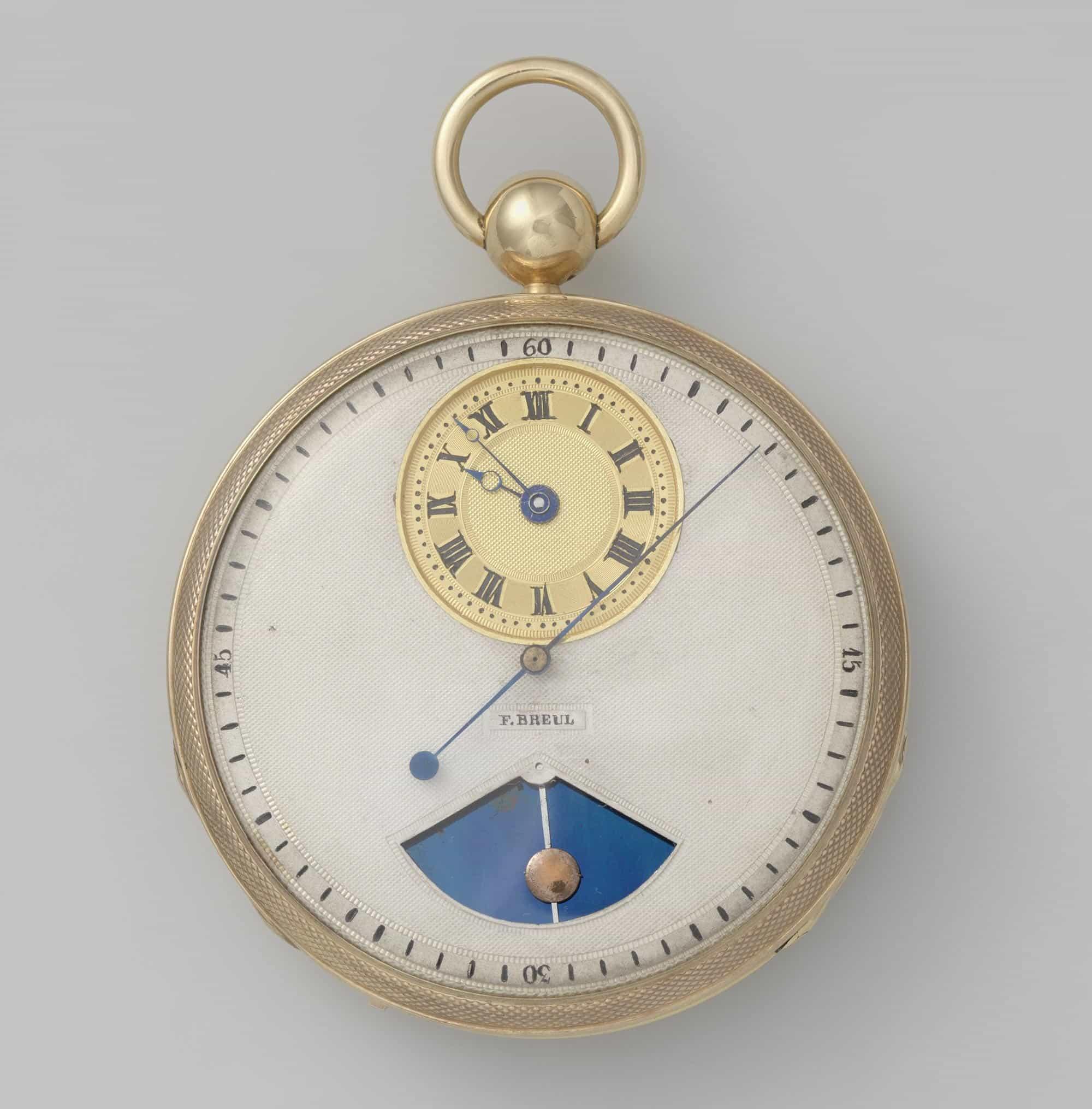 Pocket watch - F. Breul