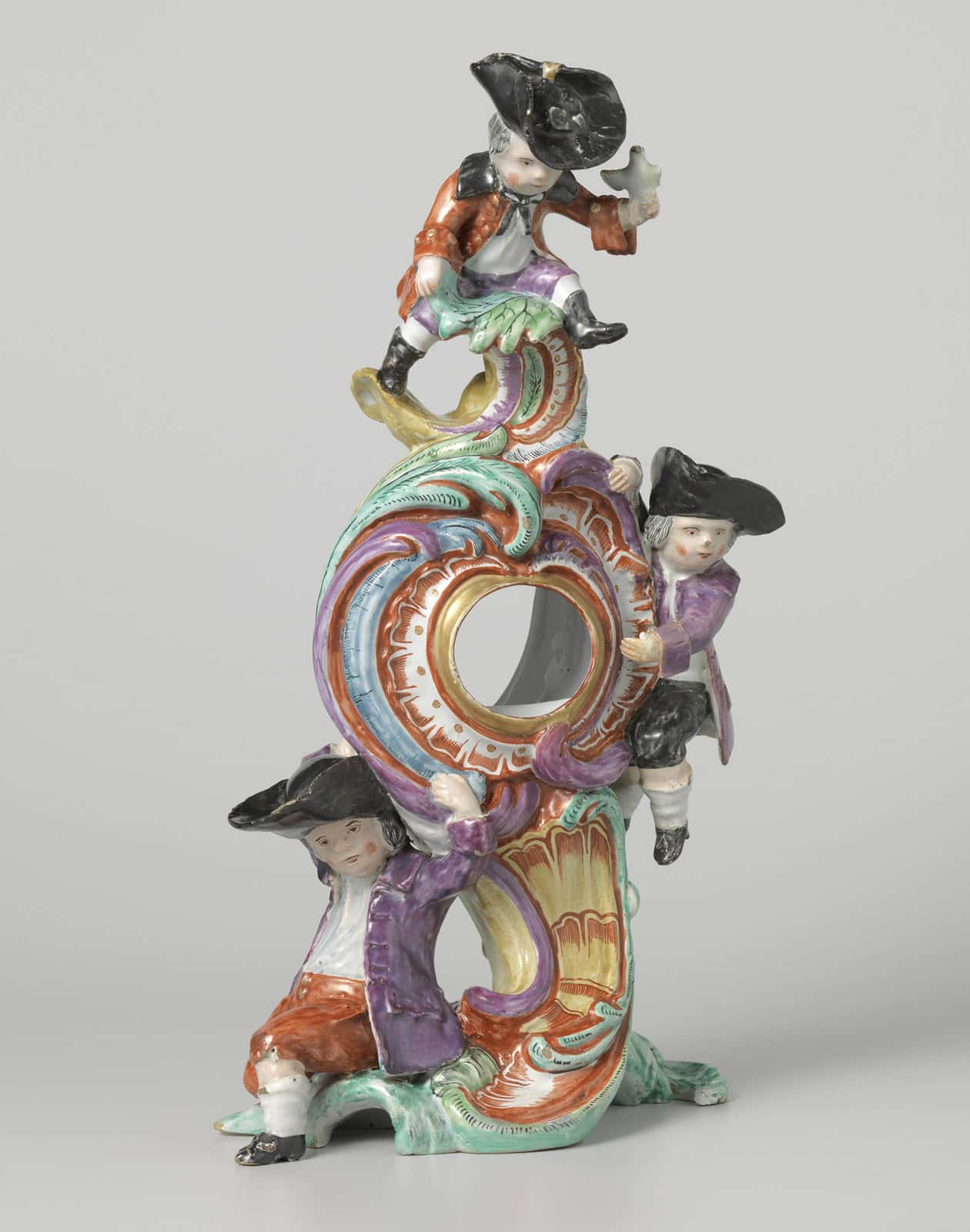 Rococo watch stand