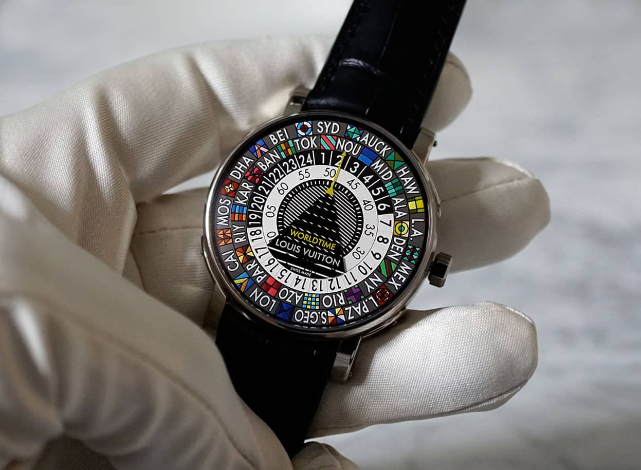Louis Vuitton Escale Worldtime and Escale Time Zone