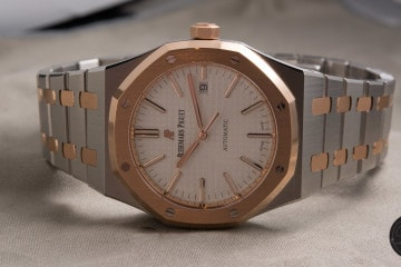 Royal Oak 15400 Two-Tone