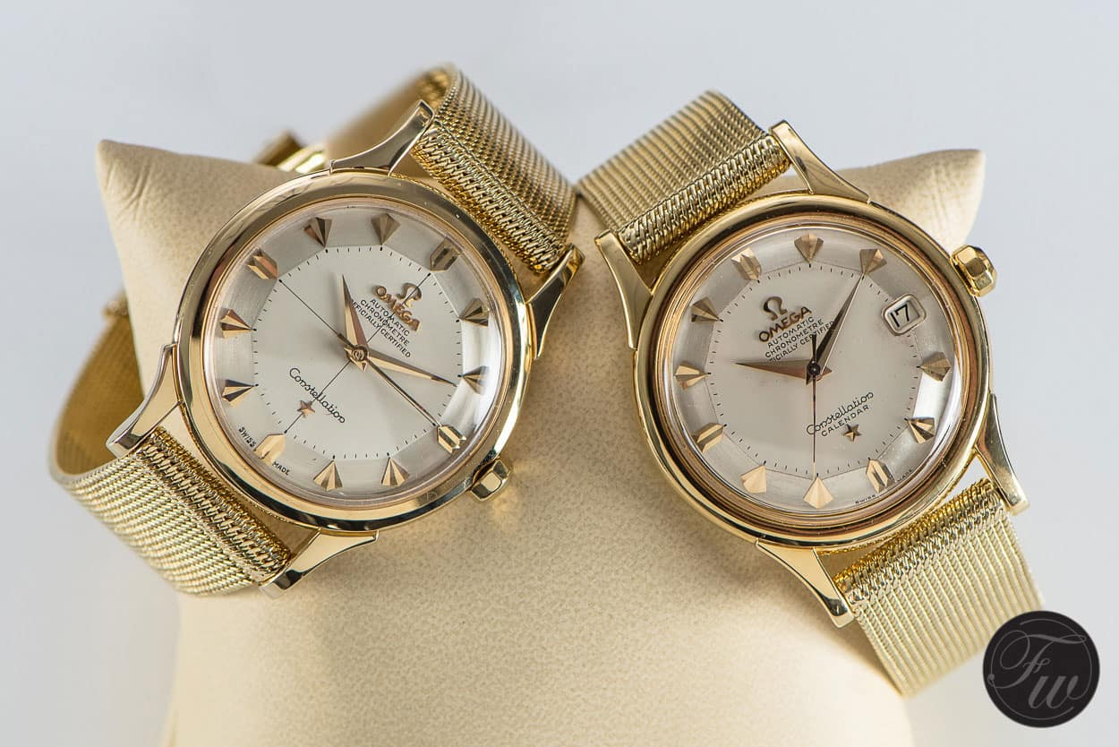 In depth vintage omega constellation watches for Watches gold