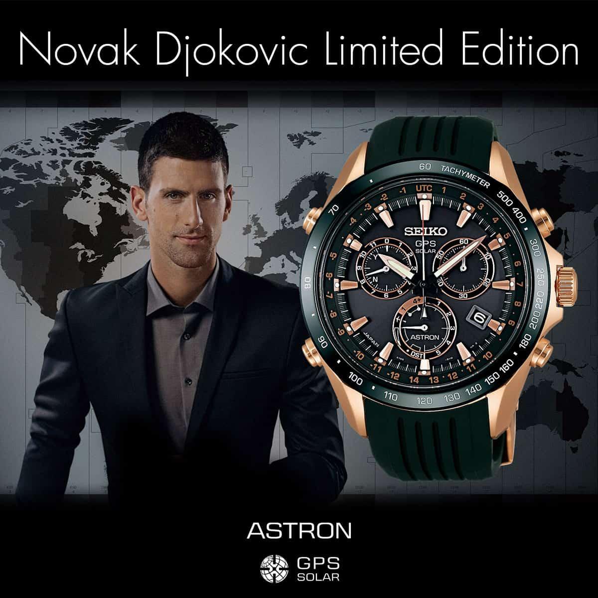 Seiko Astron Djokovic