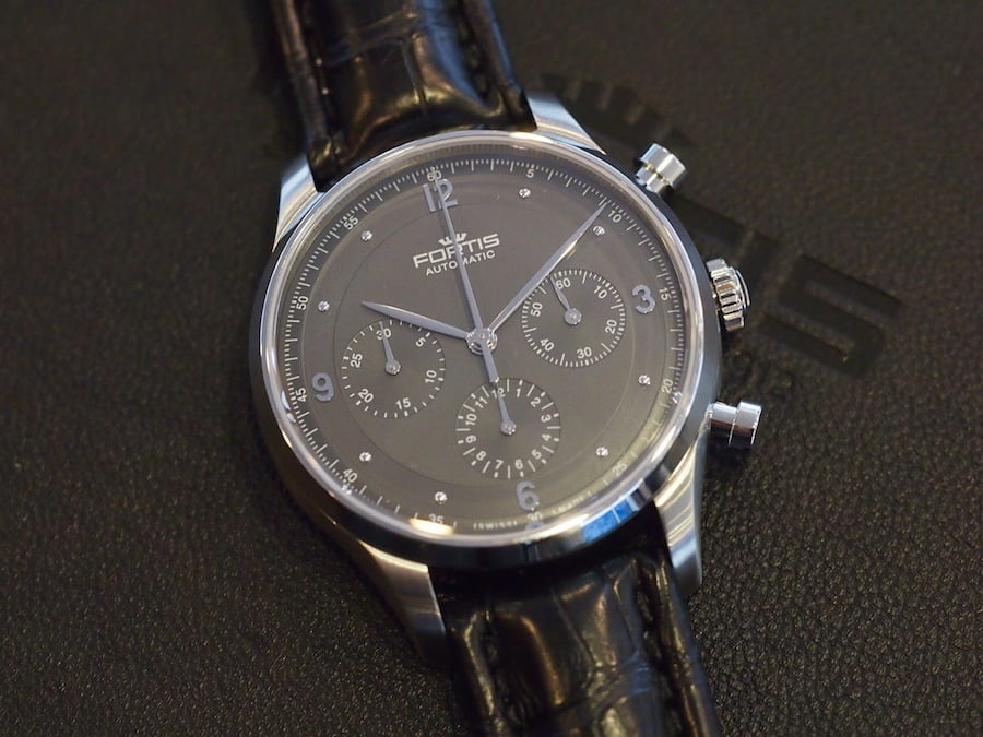 Fortis Terrestis Collection Tycoon anthracite dial